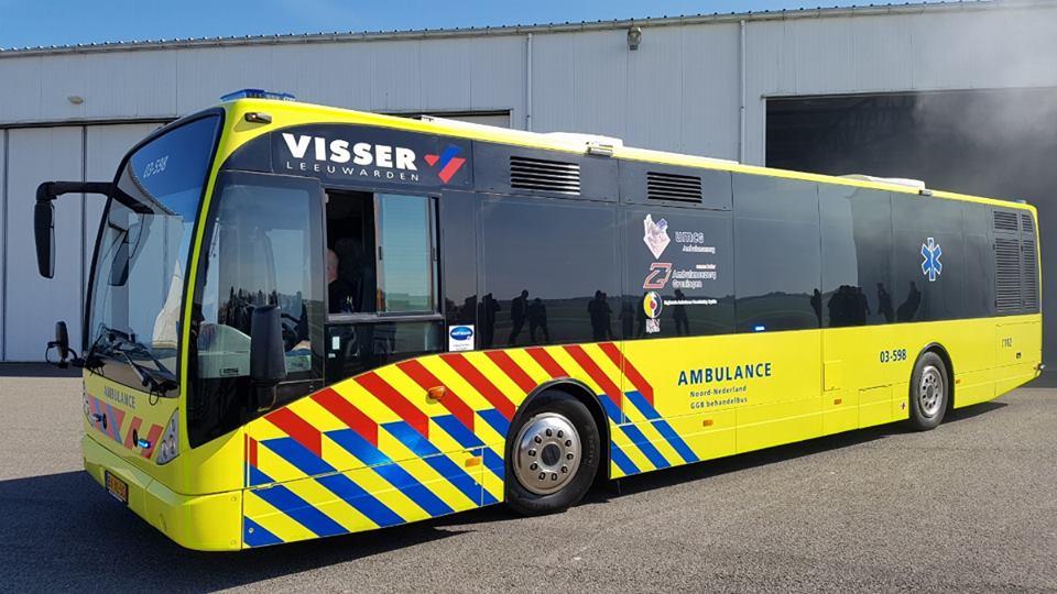 UMCG Ambulance Bus