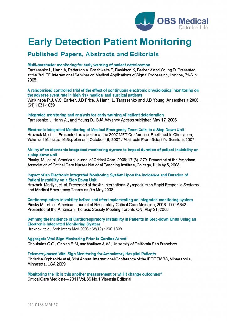 Visensia Publications